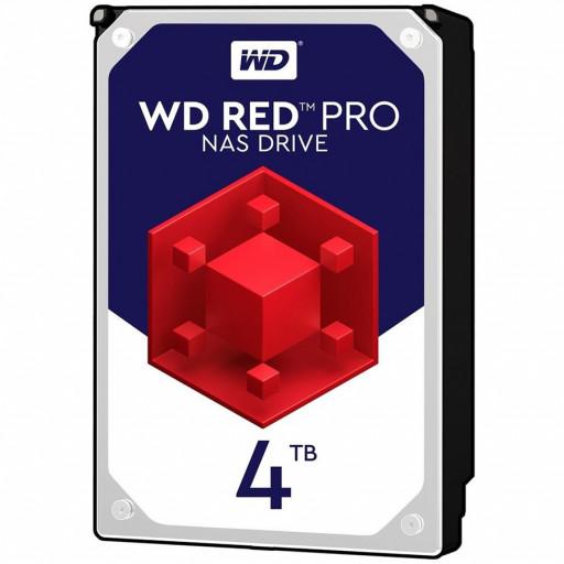 HDD Desktop WD Red Pro (3.5'', 4TB, 256MB, 7200 RPM, SATA 6 Gb/s)
