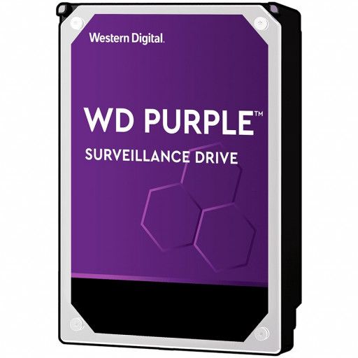 HDD AV WD Purple (3.5'', 8TB, 256MB, 7200 RPM, SATA 6 Gb/s)