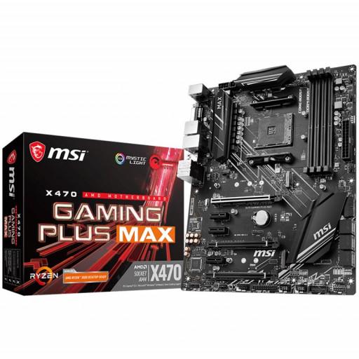 MSI Main Board Desktop X470 GAMING PLUS MAX