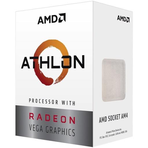 AMD CPU Desktop 2C/4T Athlon 300GE (3.4GHz,5MB,35W,AM4) tray, with Radeon Vega Graphics