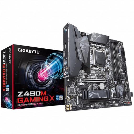 GIGABYTE Main Board Desktop Z490M GAMING X
