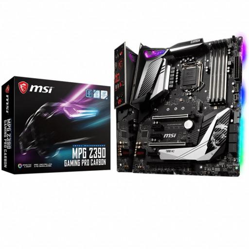 MSI Main Board Desktop Z390 (S1151, 4xDDR4, 3xPCI-Ex16, 3xPCI-Ex1, USB3.1, USB Type-C, USB2.0, 6xSATA III, 2xM.2, RAID, HDMI, DP, GLAN, RGB) ATX Retail