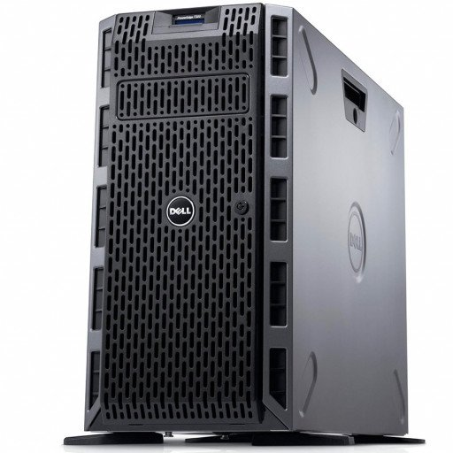 """Dell PowerEdge T40 Tower Server,Intel Xeon E-2224G 3.5GHz(4C/4T),8GB(1x8GB)2666MT/s DDR4 ECC UDIMM,1TB 7.2K RPM SATA(3.5"""" Chassis with up to 3 Hard Drives),DVD +/-RW,3Yr NBD"""