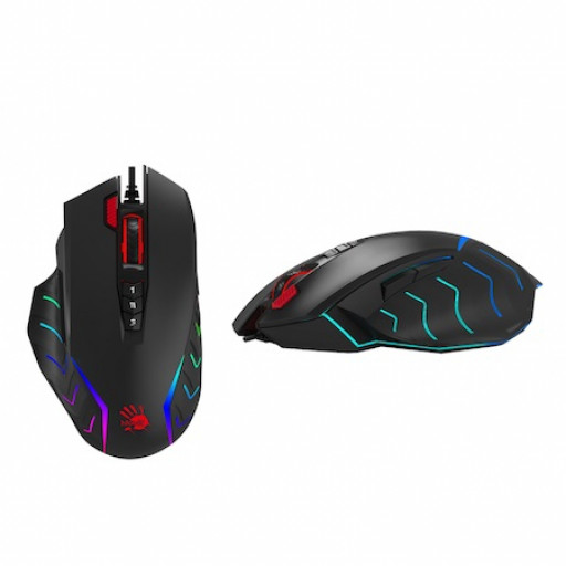Mouse Gaming A4Tech Bloody J95S, 8000 cpi, 8+1 butoane - black