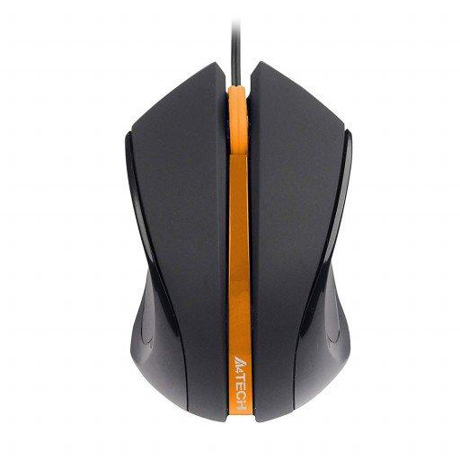 Mouse A4TECH N-310-1 USB - Black Orange