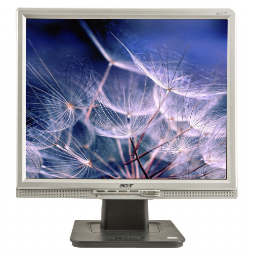 "Acer AL1715, 17"" LCD, 1280 x 1024, negru - argintiu, monitor refurbished"