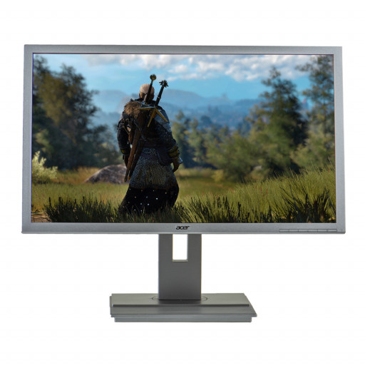 Acer B246HL, 24 inch LED, 1920 x 1080 Full HD, 16:9, negru - argintiu