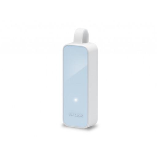Adaptor USB-A 2.0 - LAN 100 Mbps, TP-Link UE200 - White/Blue