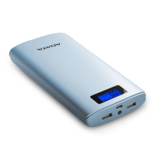 Baterie externa A-Data AP20000D-DGT-5V-CDB, 20.000 mAh - Blue