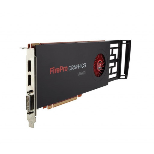 Placa video AMD Firepro V5900 2GB GDDR5  256 bit - second hand