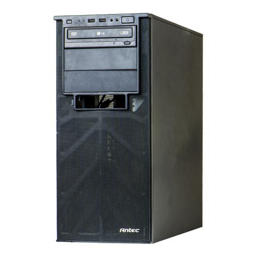 Antec GIGABYTE AMD A6 3650 2.60GHz, 4GB DDR3, 250GB HDD, DVD-ROM, Tower, Windows 10 Pro MAR, calculator refurbished
