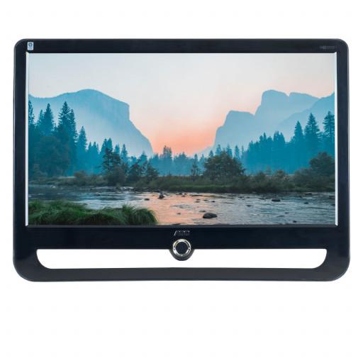 """AOC F22+ TFT22W90PS, 22"""" LCD, 1920 x 1080 Full HD, 16:9, negru - argintiu, monitor refurbished"""