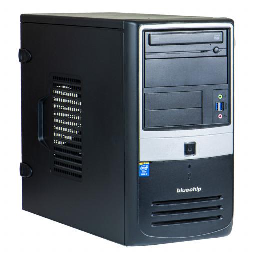 Bluechip Intel Core i5-4440 3.10GHz, 4GB DDR3, 500GB HDD, DVD-ROM, Tower, calculator refurbished