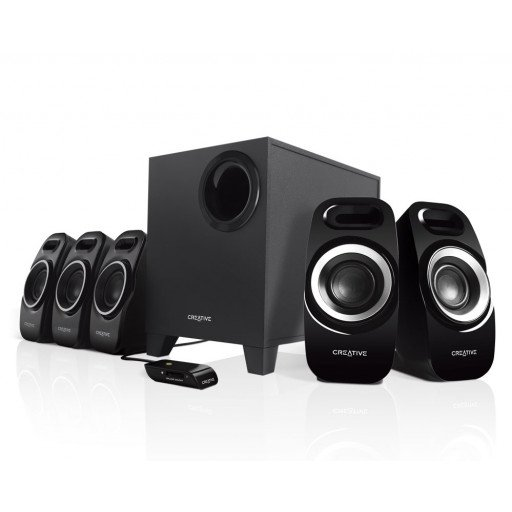 Boxe 5.1 Creative T6300, 57W, Remote Control, Black
