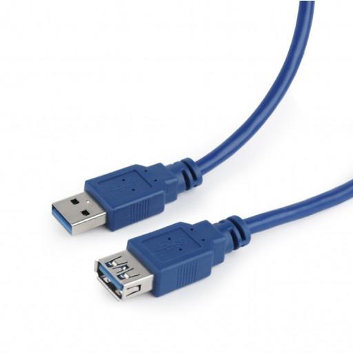 Cablu date USB AM 3.0 la USB AF 3.0 T/M, Cablexpert CCP-USB3-AMAF-6 - 1.8 m