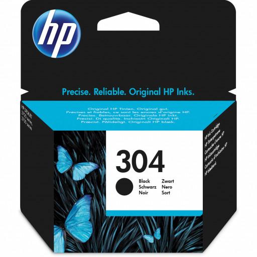 Cartuș HP N9K06AE BA3 Nr. 304 Negru