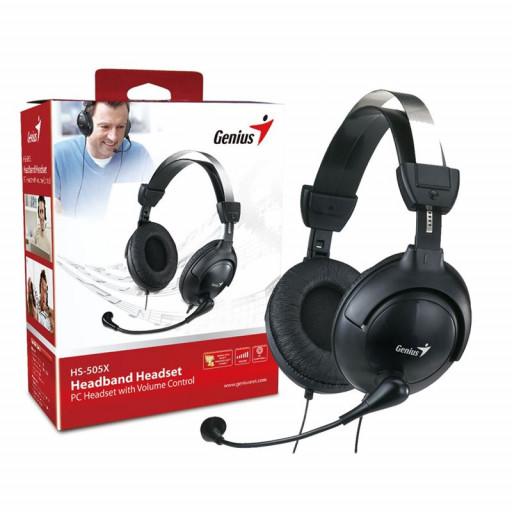Casti Genius HS-M505X cu microfon in-line