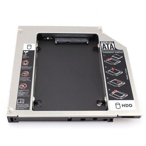 Caddy laptop Spacer  SATA de 9.5 mm - SPR-25DVDI