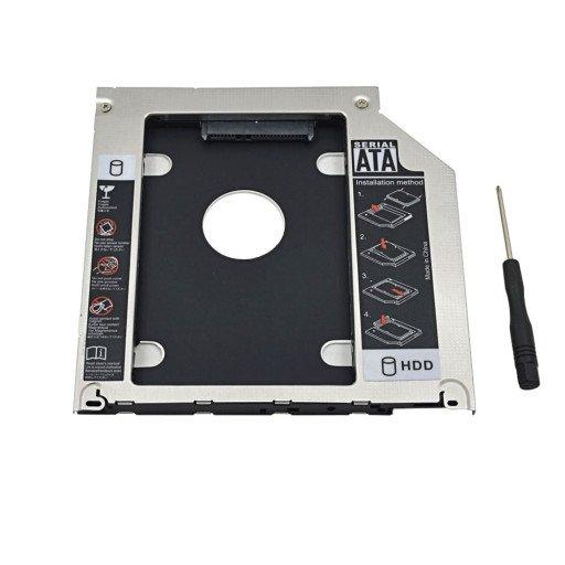 Caddy laptop SATA de 9.5 mm