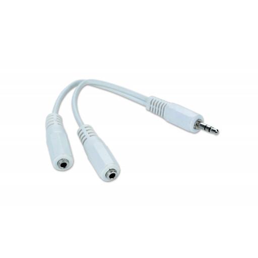 Cablu audio spliter Cablexpert CCA-415W - 10cm