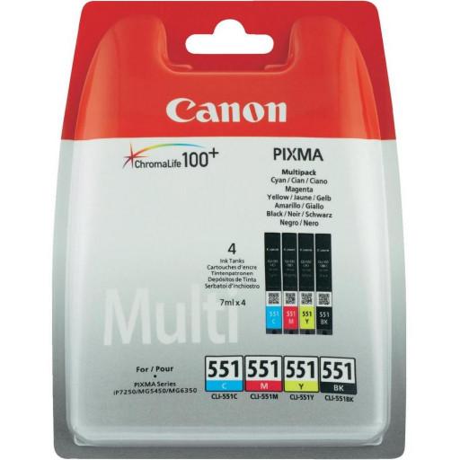 Cartus Canon Multipack CLI-551 C/M/Y/BK