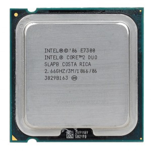 Intel Core 2 Duo E7300 2.66 GHz - second hand