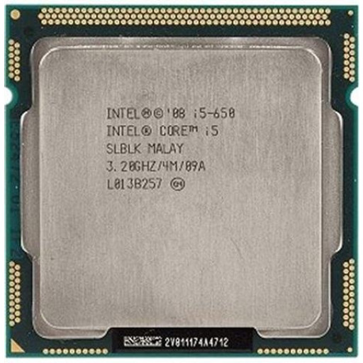 Intel Core i5-650 3.20 GHz