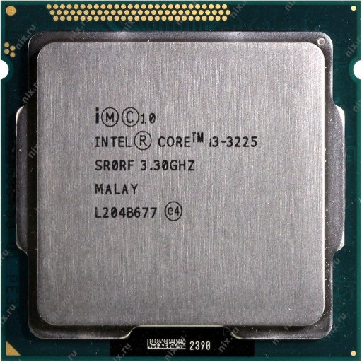 Intel Core i3-3225 3.30 GHz
