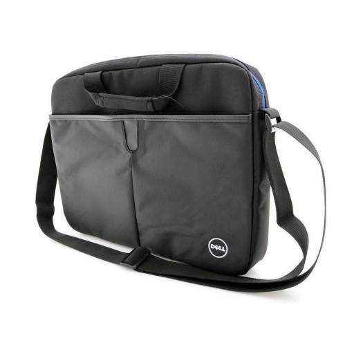 "Geanta notebook Dell Essential Topload 15.6"" - Black/ Blue"