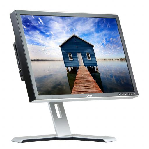 Dell 2408WFP, 24 inch LED, 1920 x 1200 Full HD, 16:10, negru - argintiu