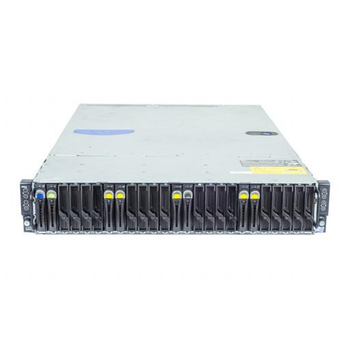 Dell PowerEdge C6100 8 x Intel Xeon X5670 2.93GHz, 256GB DDR3 REG, 8 x 900GB, HDD 2.5 inch, SAS, 4 x LSI Logic SAS1068E, Rackmount 2U, server refurbished