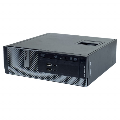 Dell Optiplex 3010 Intel Core i3-3220 3.30 GHz, 4 GB DDR 3, 128 GB SSD, DVD-ROM, SFF, Windows 10 Pro MAR
