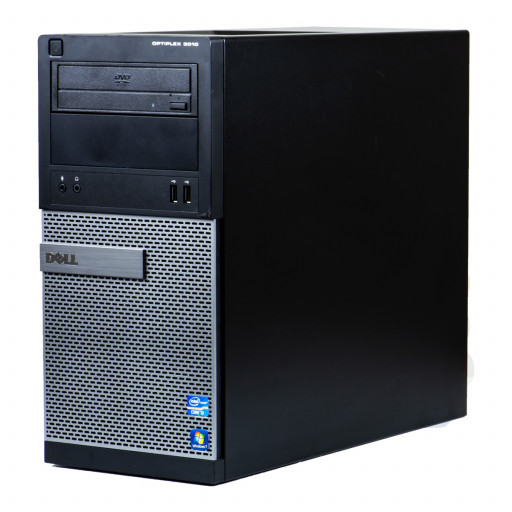 Dell Optiplex 3010 Intel Core i3-3220 3.30 GHz, 4 GB DDR 3, 250 GB HDD, DVD-ROM, Tower, Windows 10 Pro MAR