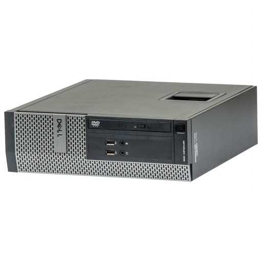 Dell Optiplex 390 Intel Core i3-2120 3.30 GHz, 4 GB DDR 3, 500 GB HDD, DVD-ROM, SFF, Windows 10 Pro MAR
