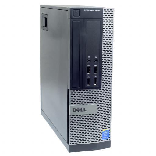 Dell Optiplex 7020 Intel Core i3-4150 3.50 GHz, 4 GB DDR 3, 500 GB HDD, DVD-RW, SFF, Windows 10 Home MAR