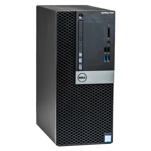 Dell Optiplex 7040 Intel Core i5-6500 3.20GHz, 8GB DDR4, 256GB SSD, Tower, Windows 10 Pro MAR, calculator refurbished