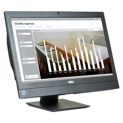 Dell Optiplex 7440 24 inch LED, Intel Core i5-6500 3.20 GHz, 8 GB DDR 4, 240 GB SSD, DVD-RW, Webcam, All-in-one, Windows 10 Home MAR