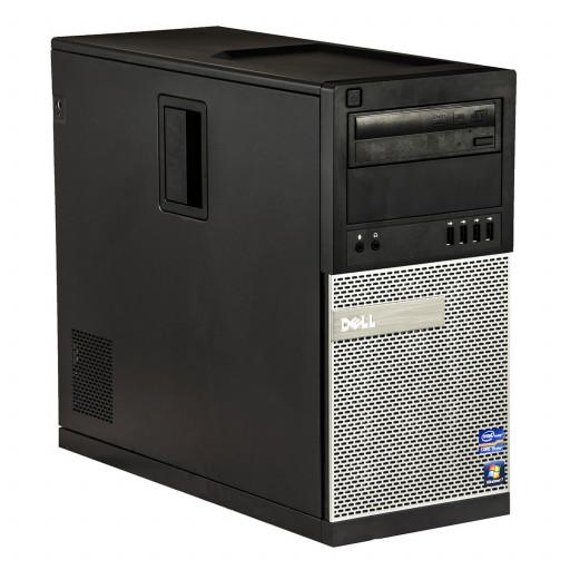 Dell Optiplex 790 Intel Core i3-2100 3.10 GHz, 4 GB DDR 3, 500 GB HDD, DVD-ROM, Tower, Windows 10 Pro MAR