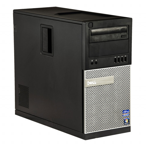 Dell Optiplex 790 Intel Core i5-2400 3.10 GHz, 4 GB DDR 3, 250 GB HDD, DVD-ROM, Tower, Windows 10 Home MAR