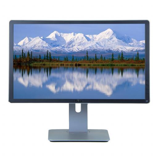 Dell  P2214H, 22 inch IPS LED, 1920 x 1080 Full HD, 16:9, displayport, negru - argintiu