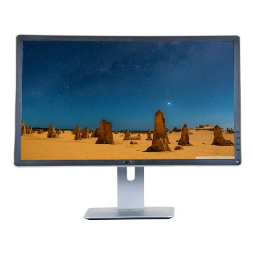 Dell UltraSharp P2414H, 24 inch IPS LED, 1920 x 1080 Full HD, 16:9, displayport, negru - argintiu