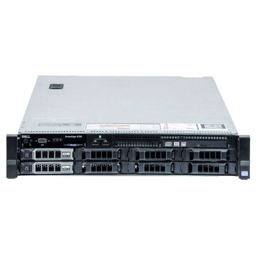 Dell PowerEdge R720 2 x Intel Xeon E5-2640 2.50GHz, 32GB DDR3 REG, 2 x 3TB, HDD 3.5 inch, SAS, PERC H710 Mini, Rackmount 2U, server refurbished