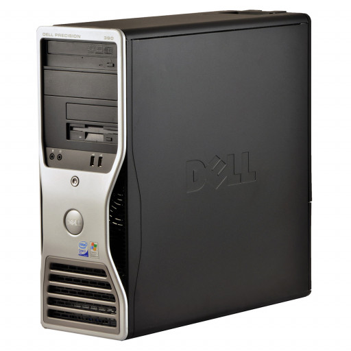 Dell Precision 390 Intel C2D E6400 2.13 GHz, 4 GB DDR 2, 250 GB HDD, DVD-RW, 1 GB Geforce 605, Tower