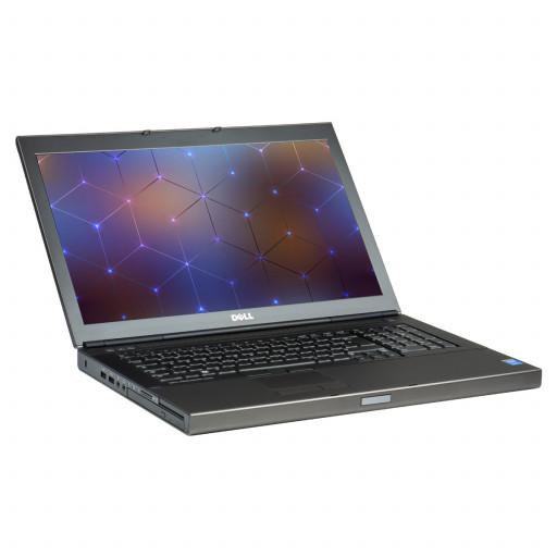 Dell Precision M6800 17 inch LED, Intel Core i7-4810MQ 2.80 GHz, 16 GB DDR 3, 512 GB SSD, 4 GB Quadro K4100M, Webcam, Windows 10 Pro MAR