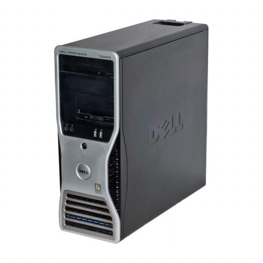 Dell Precision T3400 Intel C2D E8400 3.00 GHz, 4 GB DDR 2, 320 GB HDD, DVD-RW, 1 GB GeForce 605, Tower, Windows 10 Pro MAR