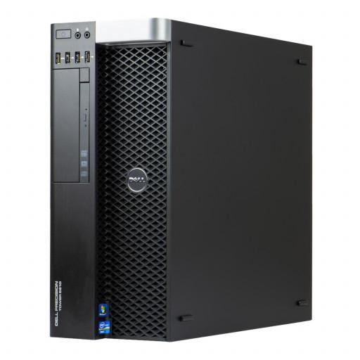 Dell Precision T5810, Xeon E5-1620 v3 pana la 3.60GHz, 16GB DDR4, 256GB SSD, DVD, 2GB Quadro K2000, Tower, Windows 10 Pro MAR, workstation refurbished