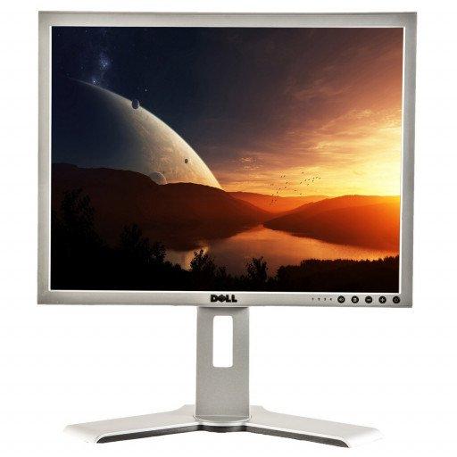 Dell 2007FP, 20 inch LCD, 1680 x 1050, 16:10, negru - argintiu