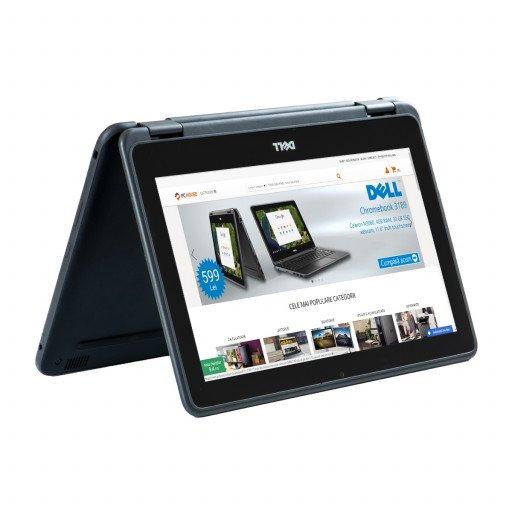 Dell Chromebook 11 3189 11.6 inch IPS Touchscreen, Intel Celeron N3060 1.60 GHz, 4 GB DDR 3, 32 GB Flash, Webcam