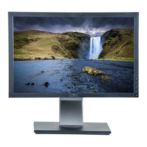Dell E2009W, 20 inch LCD, 1680 x 1050, 16:10, negru - argintiu