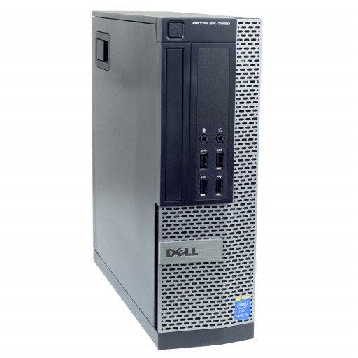 Dell Optiplex 7020 Intel Core i3-4150 3.50 GHz, 4 GB DDR 3, 250 GB HDD, DVD-ROM, SFF, Windows 10 Pro MAR